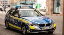 POL-DA: Viernheim: Stein durchschlägt Scheibe der Straßenbahn der Linie 5