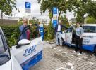 Multifunktionsladeplatz in Speyer-West E-CarSharing-Station und Schnelllader installiert
