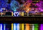 TWL Lichterzauber startet Lichtakzente im Zentrum und am Rhein
