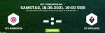 VfR Mannheim – SV Spielberg, am Samstag erst um 19:00 Uhr