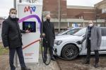MVV startet ersten Schnell-Ladepark für Elektroautos in Mannheim