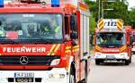 POL-MA: Heidelberg-Neuenheimer Feld: Brand eines Containers - Einsatz von Polizei und Feuerwehr - Straßensperrung