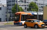 POL-MA: Mannheim-Feudenheim: Zusammenstoß zwischen Pkw und Straßenbahn - hoher Sachschaden entstanden