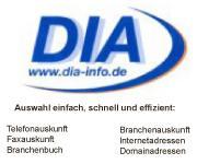 DIA - INFO - Branchenbuch